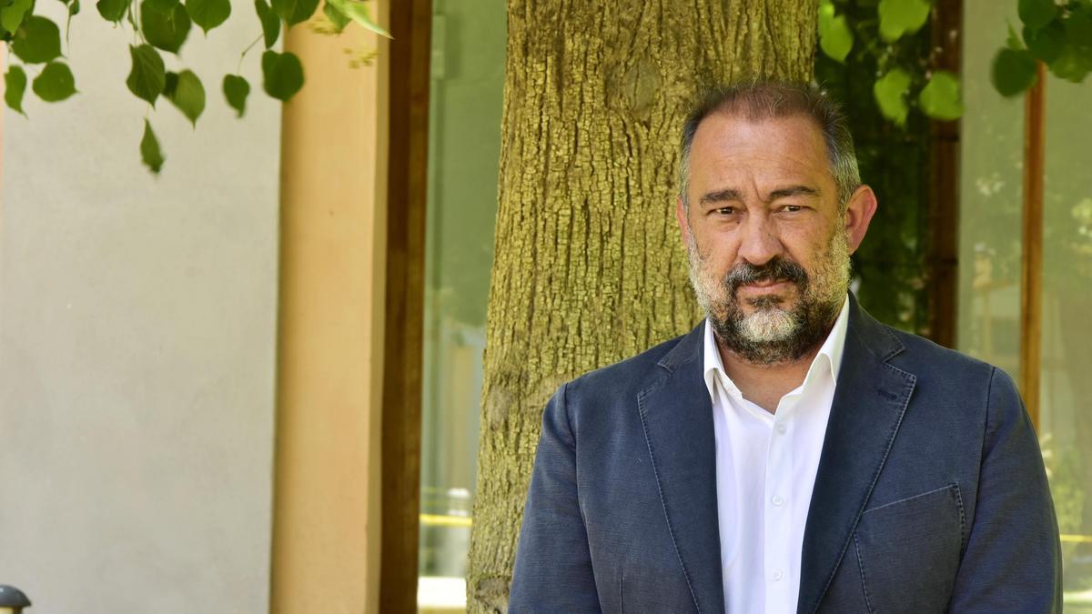 Julián Garde, rector de la UCLM