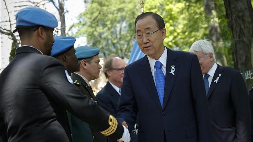 La ONU homenajea a los cascos azules caídos en 2014, incluidos dos españoles