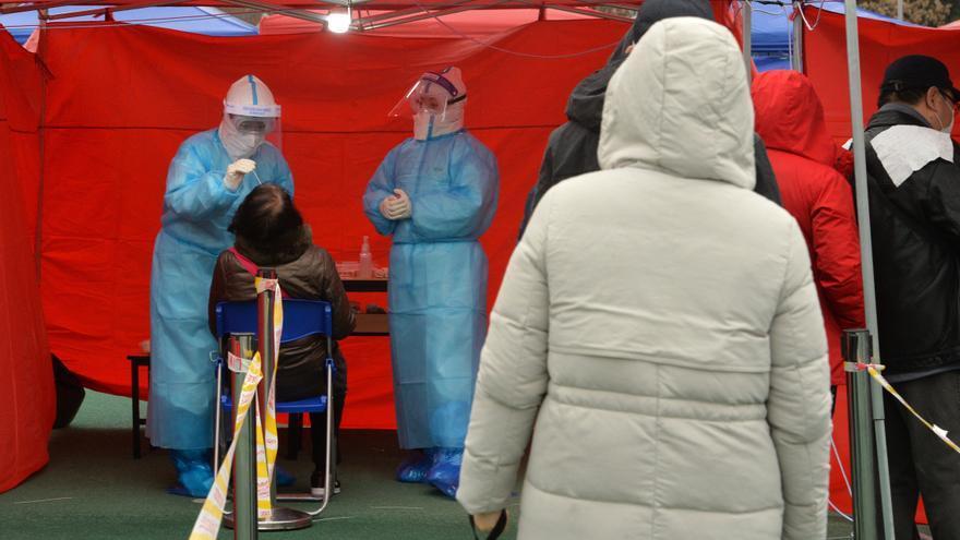 Ciudad china emprende campaña de test masivos tras registrar cinco contagios
