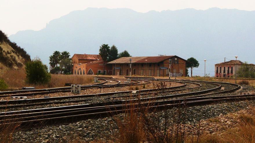La estación de ferrocarril de Calasparra