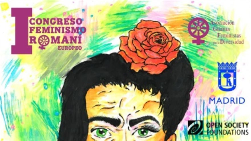Cartel del I Congreso de Feminismo Romaní
