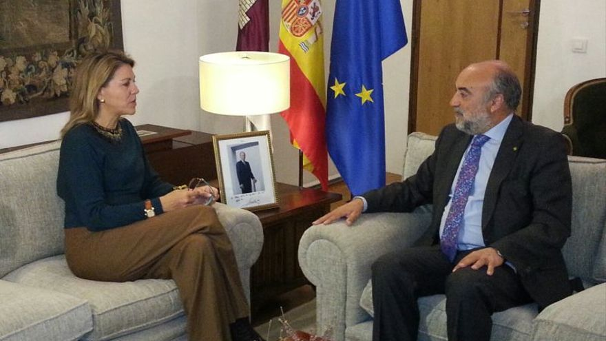 Cospedal y Antonio Lopez de Manzanara