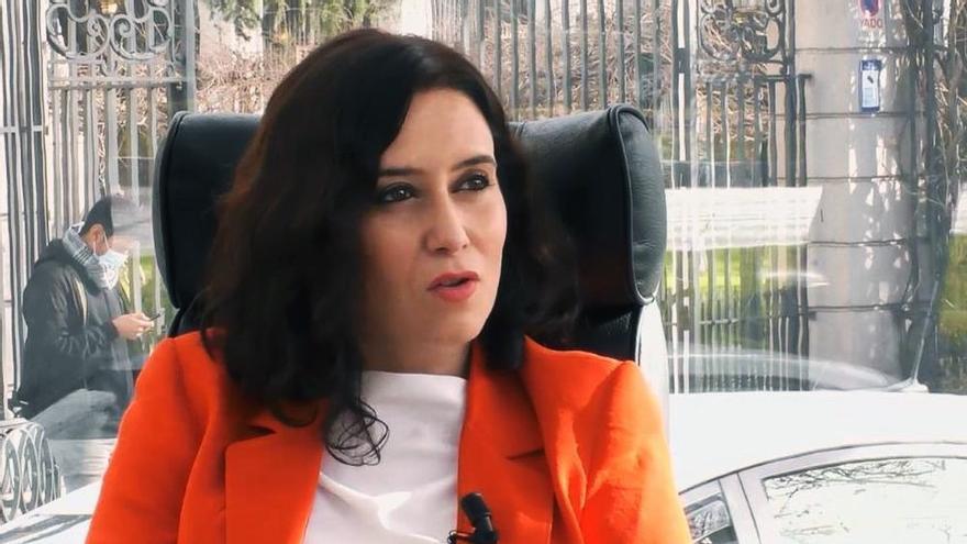 Isabel Díaz Ayuso en 'La Campos Móvil'