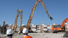 Adiós al estadio Vicente Calderón: terminan las obras de demolición del templo rojiblanco
