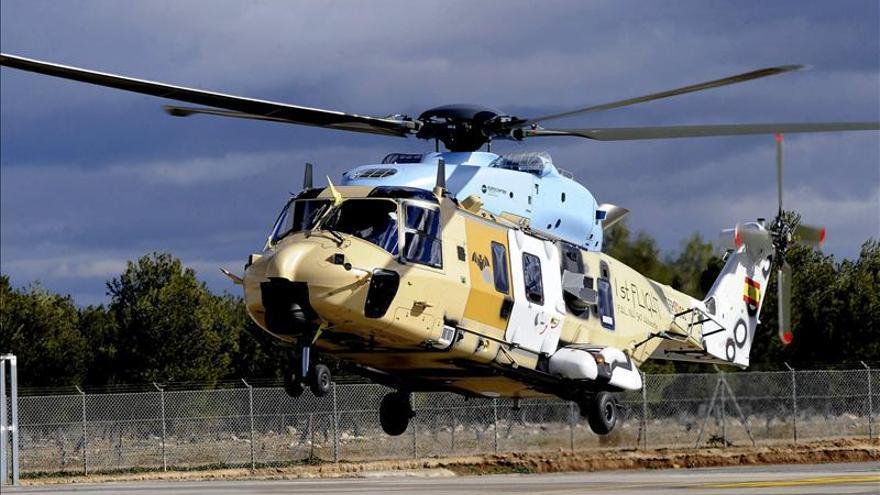 """Eurocopter dice que España confirma su """"capacidad industrial"""" con el helicóptero NH90"""