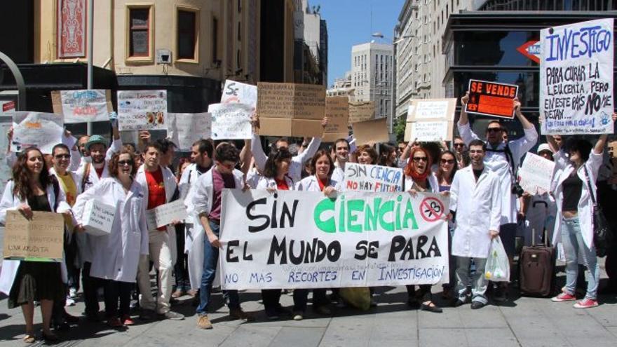 España ha perdido al 9% de sus científicos en los últimos 5 años