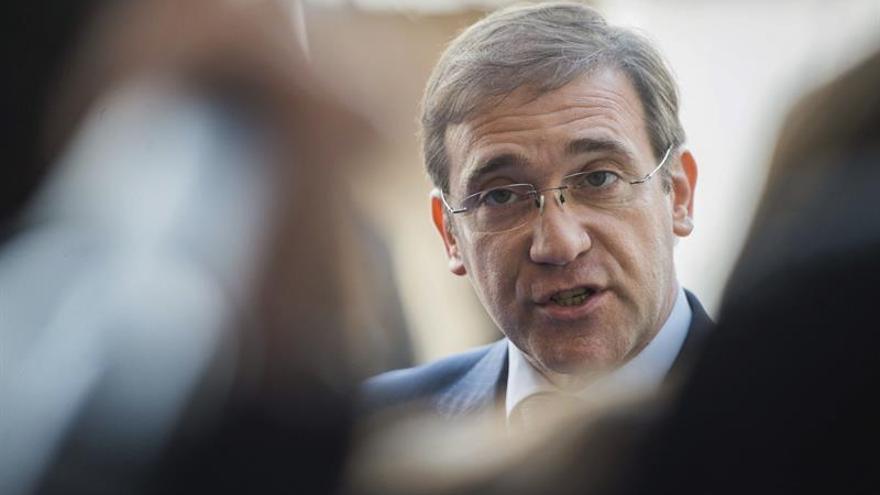 Passos Coelho admite que el acuerdo de izquierdas es sólido y legítimo