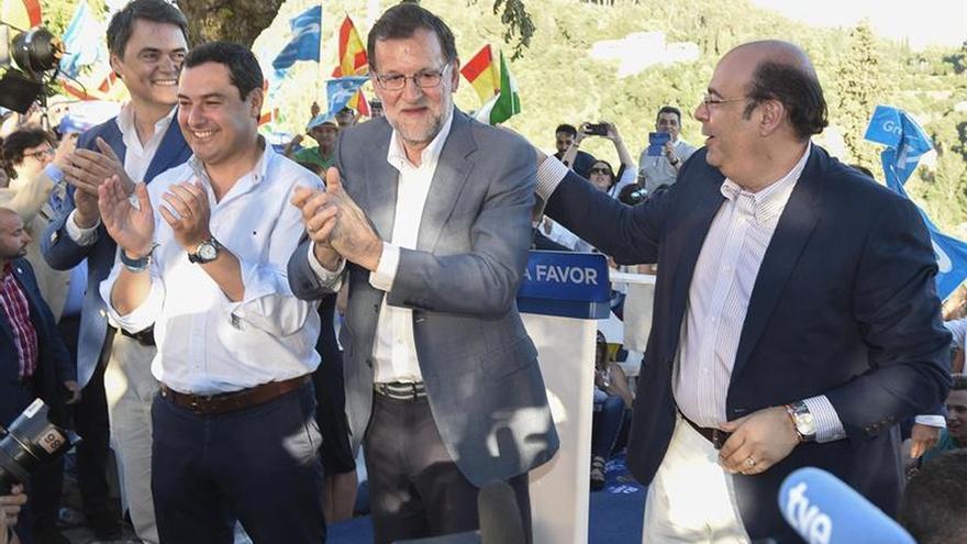 """Rajoy dice hay algunos españoles """"un poco malos"""" pero los derrotará el 26J"""
