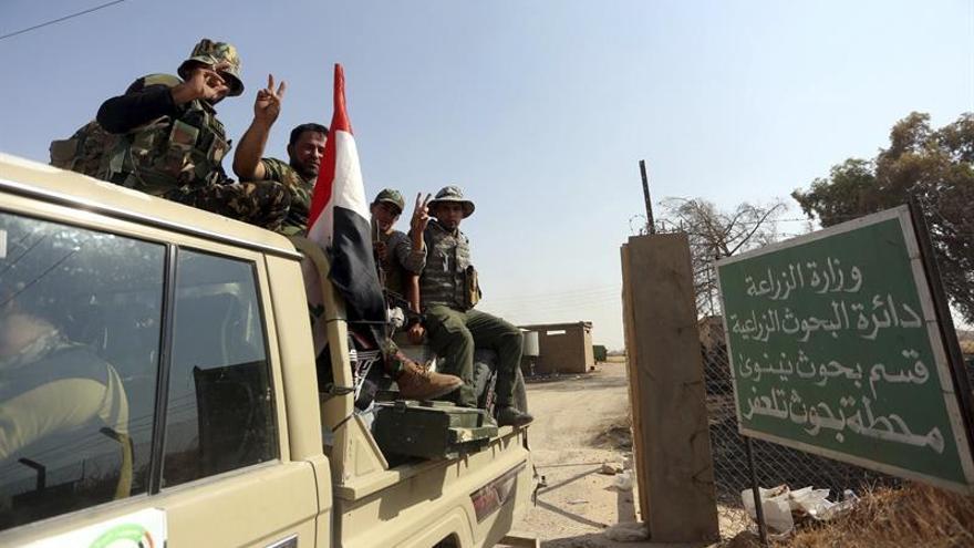 El Ejército iraquí se prepara para la próxima batalla contra el EI en Al Hauiya