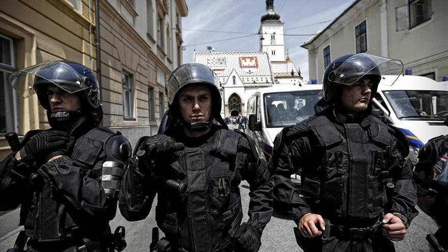 Aumentan en Zagreb las protestas de veteranos de guerra contra el Gobierno