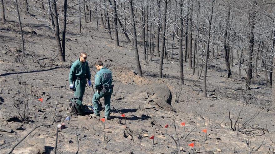 Imputado el supuesto autor de varios incendios forestales en Sierra de Gata