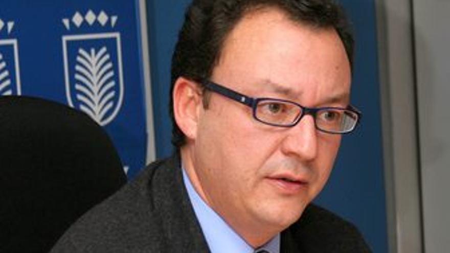 Fernando Navarro, en una imagen de la anterior legislatura.