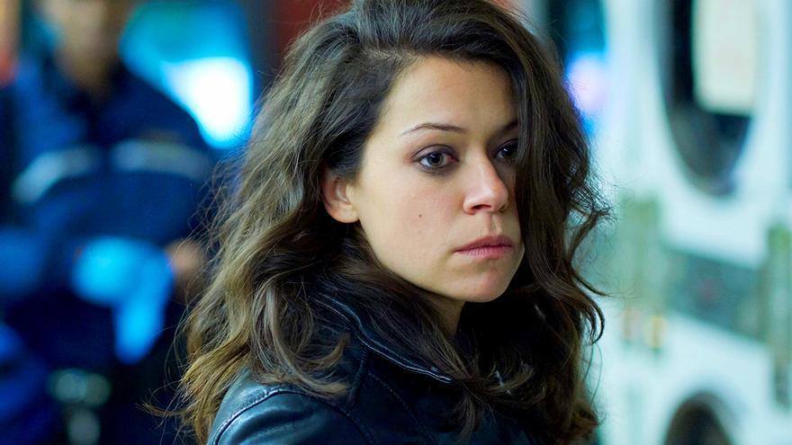 Tatiana Maslany en una escena de la serie 'Orphan Black'