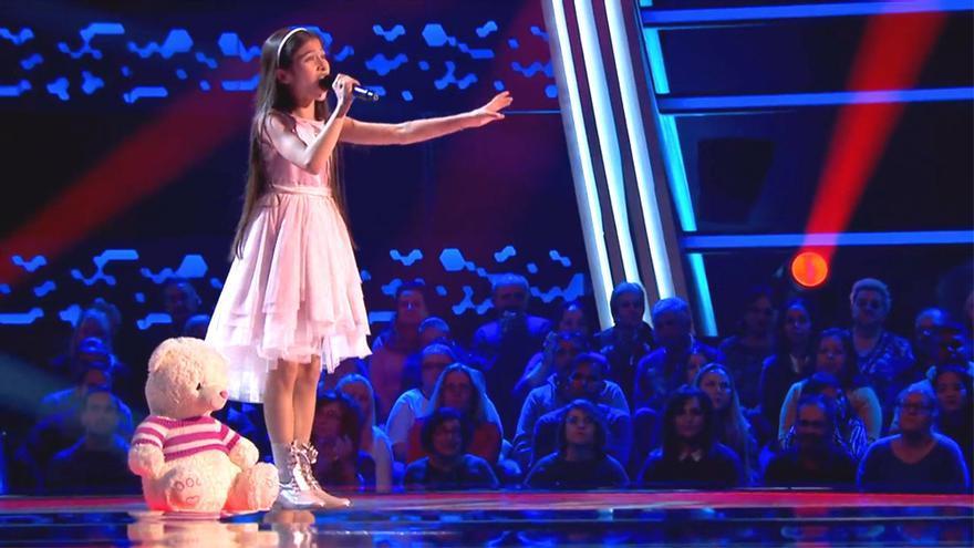 Melani volvió a 'La Voz Kids' y cantó la canción con la que ganó el concurso