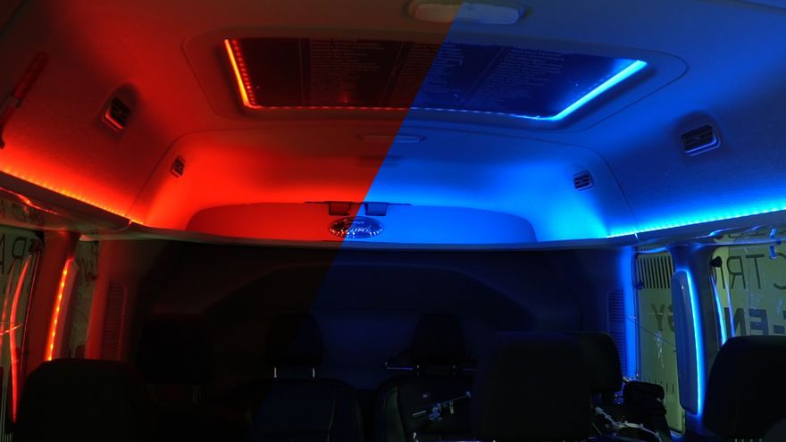 El experimento de Ford consiste en averiguar cómo diferentes colores engañan al cerebro para que piense que hace más calor o más frío.