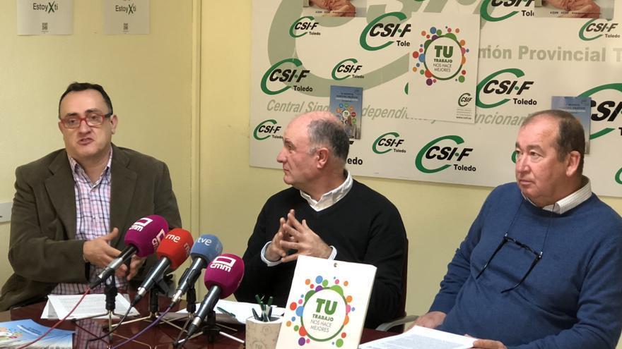 Rueda de prensa de CSIF