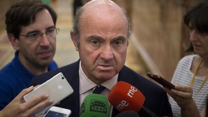 """Luis de Guidos pide reformas """"agresivas"""" en la eurozona"""