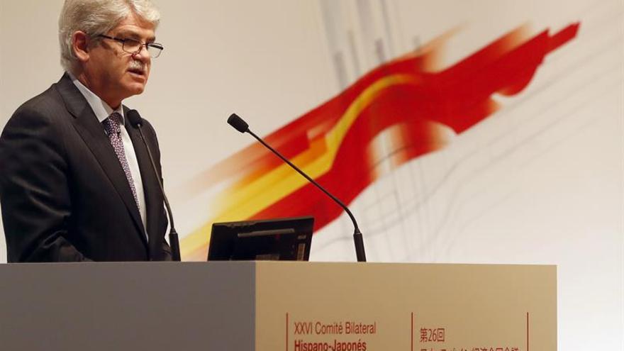 Dastis pide una reacción internacional unánime contra el ataque con armas químicas