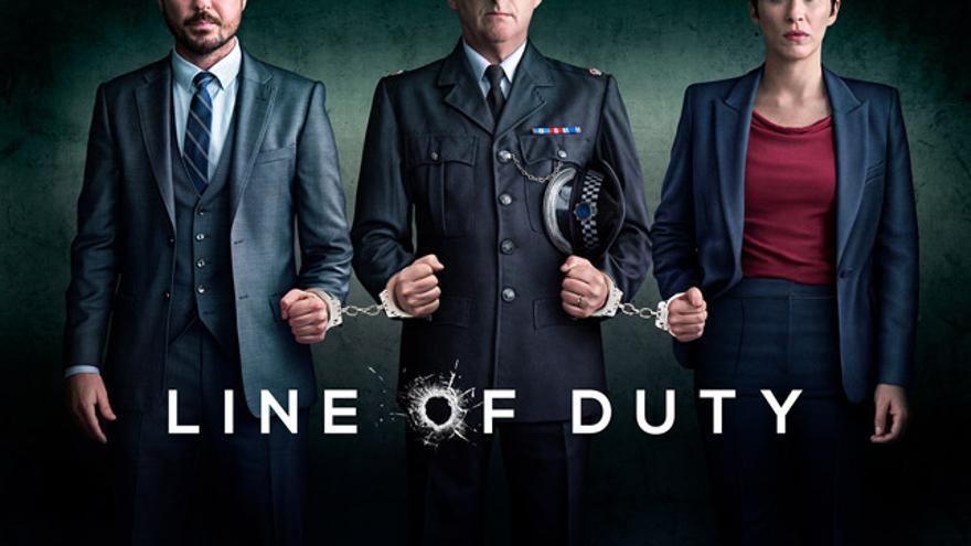 Cartel promocional de la quinta temporada de 'Line of Duty'.