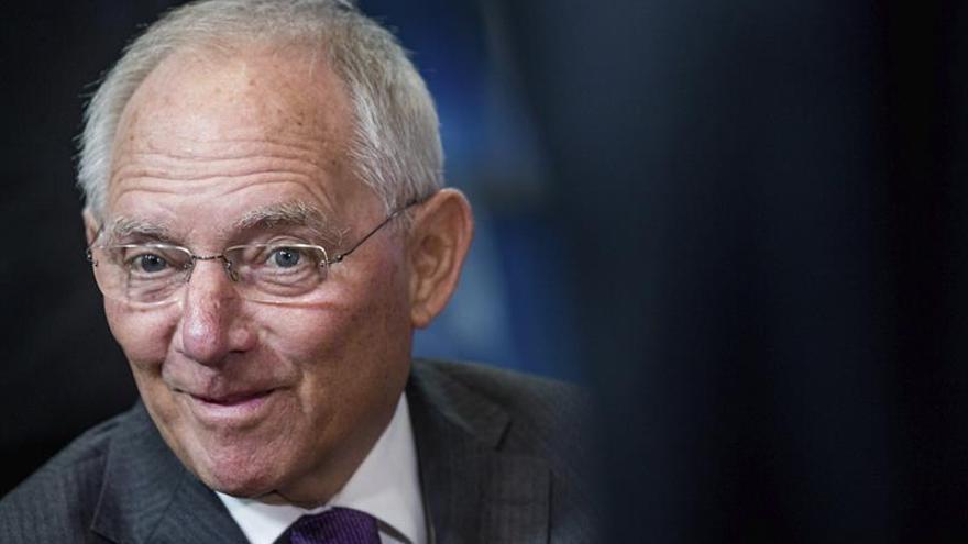 Schäuble: el problema de Europa no es de dinero sino de falta de reformas