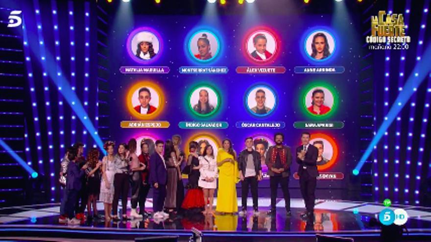 Los 12 niños semifinalistas de 'Idol Kids'