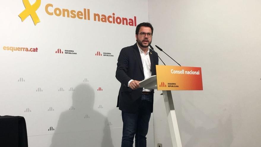 """Aragonès cree que Fiscalía tiene """"una oportunidad de oro"""" para corregir su enfoque del proceso"""