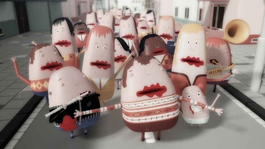 La muestra de cine Animatic ofrece este viernes una sesión de cortometrajes de animación internacionales