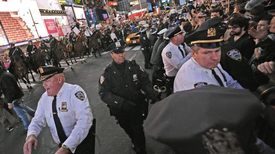 Varios detenidos en una protesta por el aniversario del movimiento Ocupa Wall Street