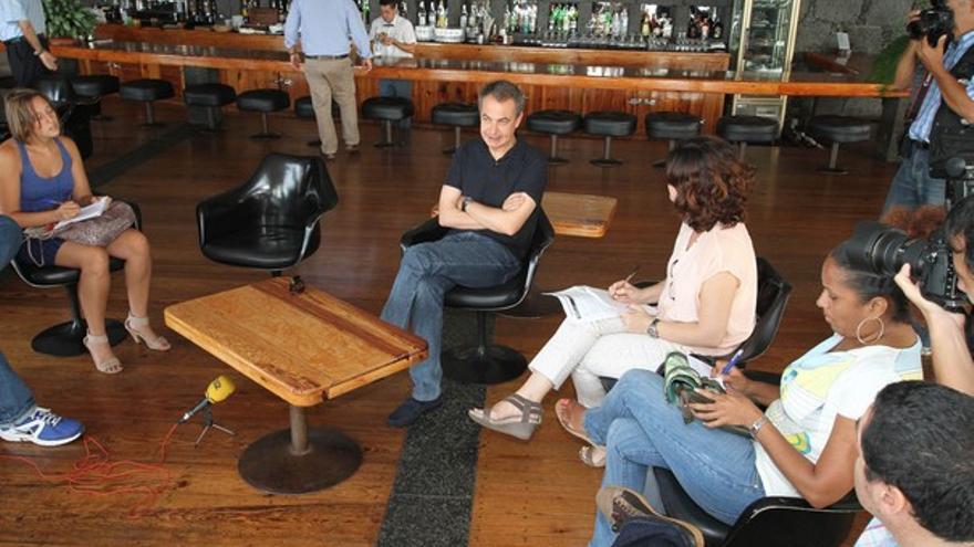 De la rueda de prensa de Zapatero #4