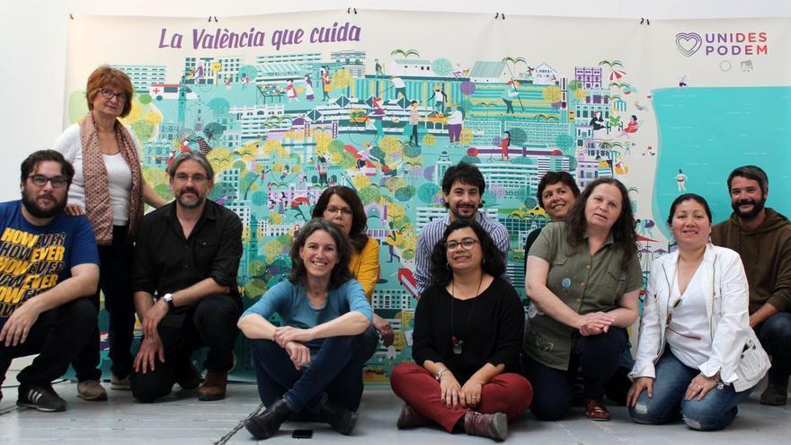 Unides Podem-Esquerra Unida presenta su lema de campaña para Valencia