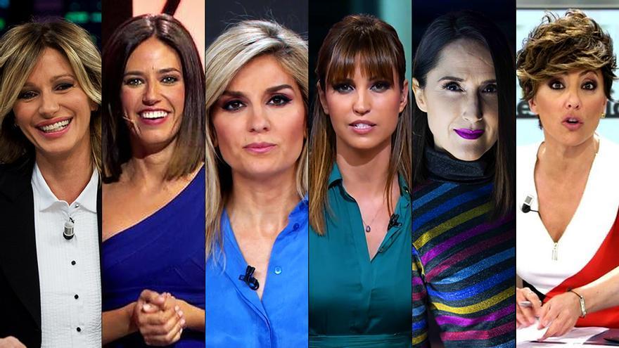 """6 presentadoras hacen balance de la igualdad en TV: """"Somos reflejo de una sociedad que sigue siendo machista y paternalista"""""""