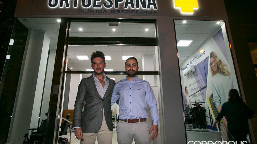 Inauguración de las nuevas instalaciones de Ortoespaña   MADERO CUBERO