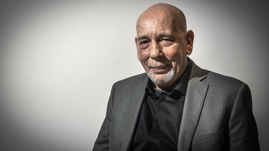 Peter Kaldheim, autor de 'El viento idiota'/ Foto Ricardo Domingo. Cortesía Fundación Telefónica