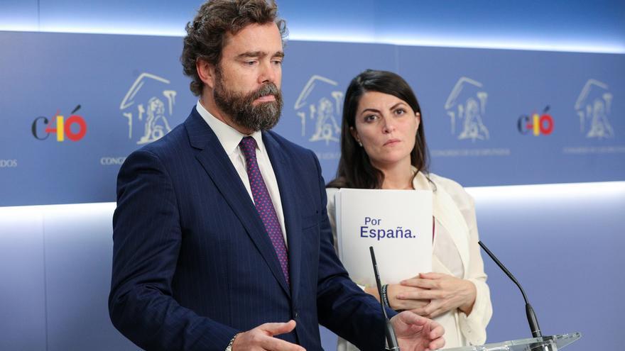"""Vox, optimista ante un pacto para que la derecha gobierne en la capital: """"Estamos a tiempo de salvar Madrid"""""""