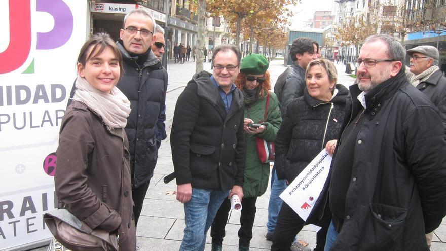 """Begoña Alfaro (Unidad Popular) cree a su pesar que Rajoy será presidente gracias a Ciudadanos y será """"un problema"""""""