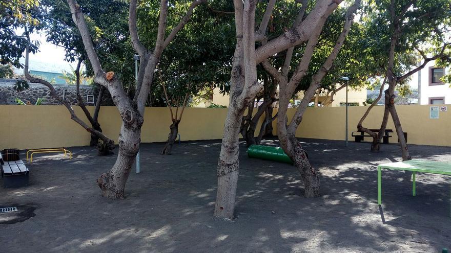 Imagen del parque para perros de Los Llanos.