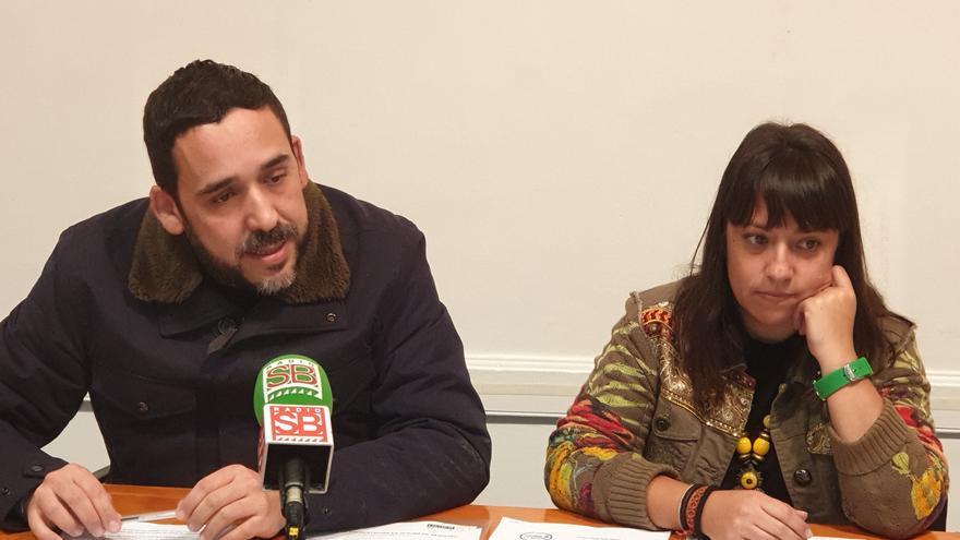 Rubens Ascanio e Idaira Afonso, concejales de Unidos Se Puede en La Laguna