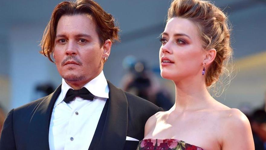 Johnny Depp y Amber Heard, oficialmente divorciados