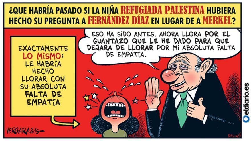 Fernández Díaz no quiere refugiados