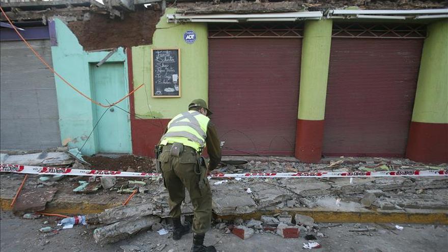Se eleva a ocho el número de muertos por el terremoto en Chile