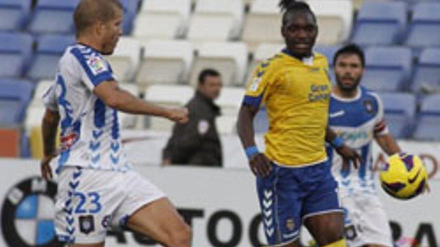 Imagen del Recreativo de Huelva UD Las Palmas de la primera vuelta. udlaspalmas.es