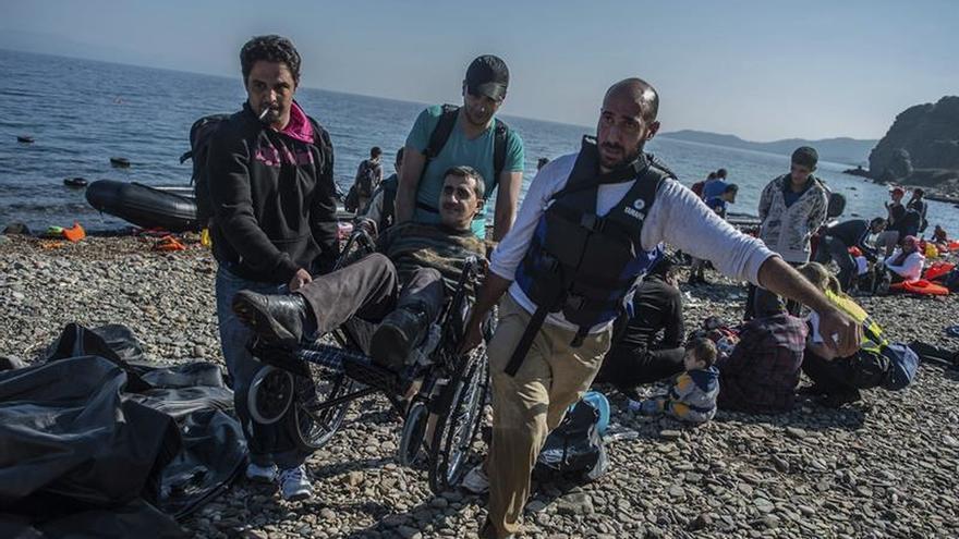 Frontex rescata a 78 refugiados en las aguas de la isla griega de Lesbos