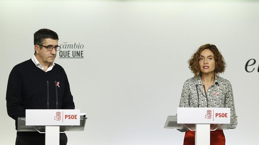 """Patxi López dice que la inclusión de Lozano es un reconocimiento de que lo que dijo del PSOE """"no tenía ningún sentido"""""""