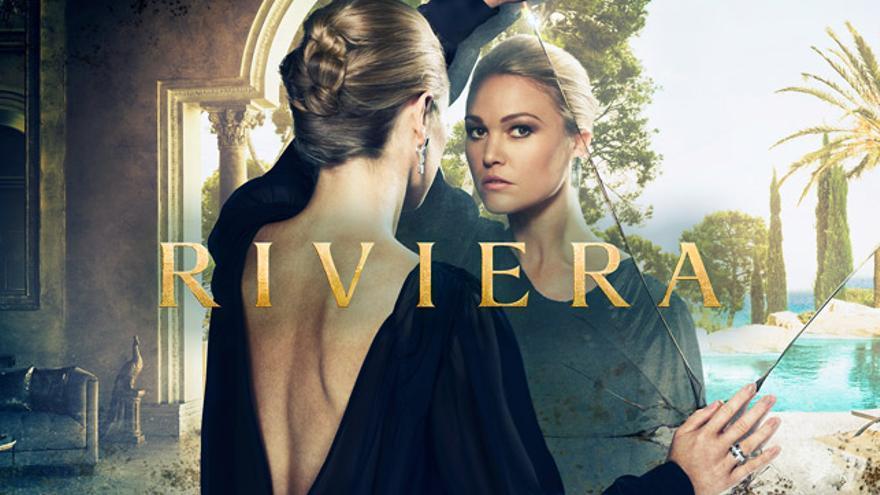 Cartel promocional de la segunda temporada de 'Riviera'.