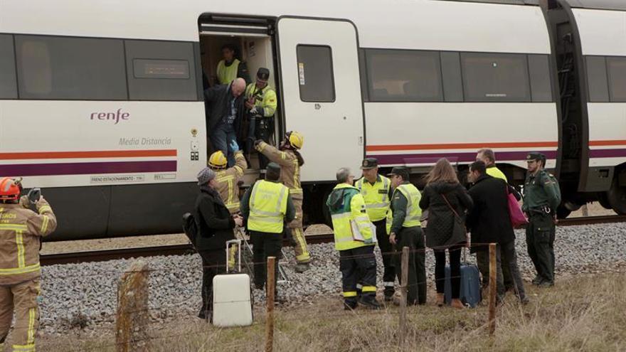 Un fallecido tras la colisión de un tren y un camión en Toledo