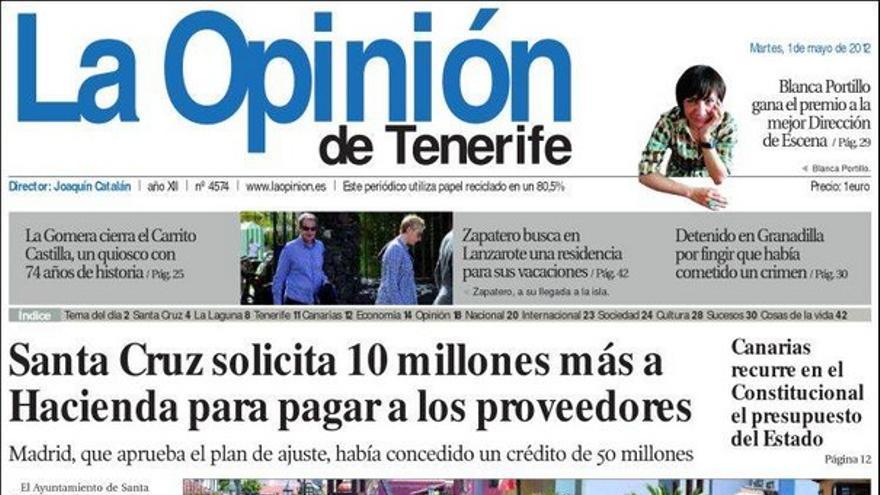 De las portadas del día (01/05/2012) #5