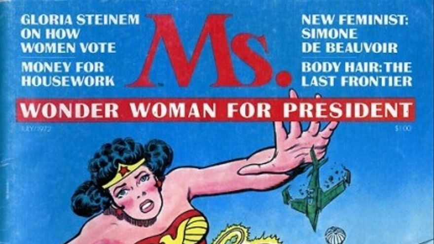 Portada Ms.# 1 (1972)