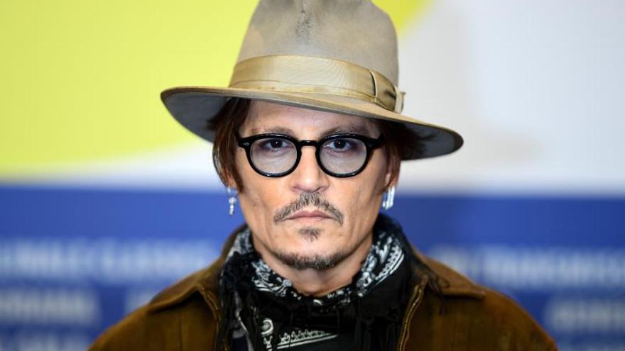 En la imagen, el actor estadounidense Johnny Depp.