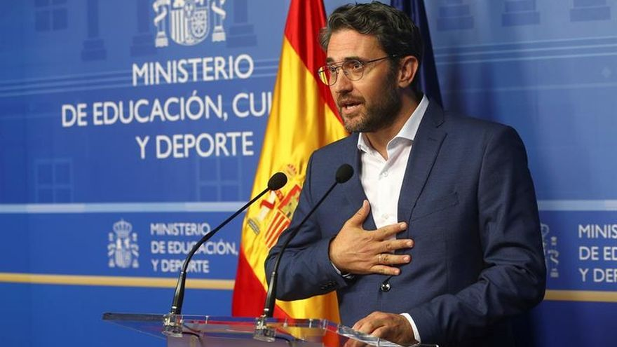 El BOE publica el cese de Huerta y el nombramiento de Guirao como ministro Cultura