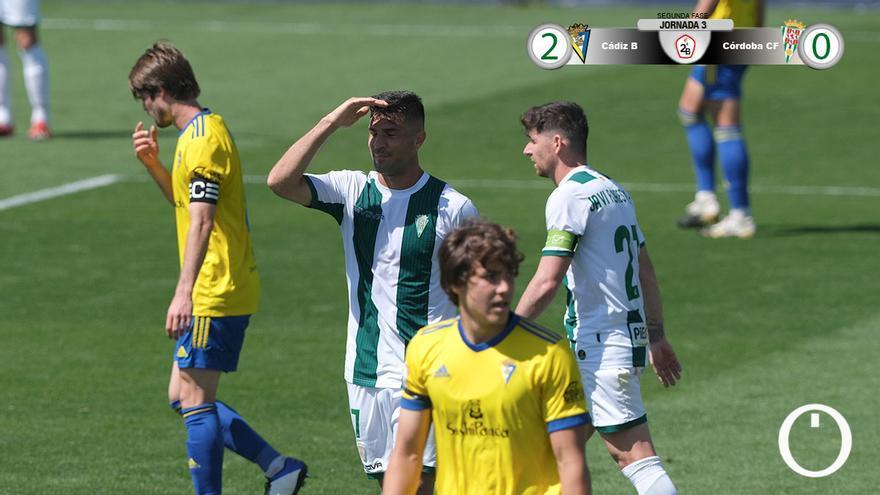 Willy lamenta una ocasión perdida en Cádiz.